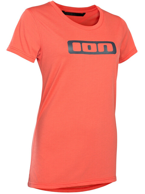 ION Seek DR SS Tee Women hot coral